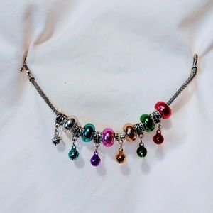 Bells and Beads Christmas bracelet